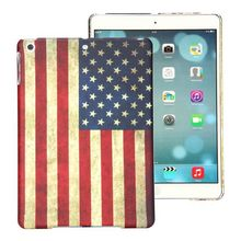 Hot Sale US Flag Pattern Retro Hard Factory Directly for Apple iPad Air Case Cover