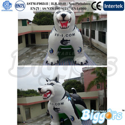 Commercial Giant Dog Inflatable Advertising shape For Promotion