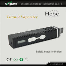 2014 hot selling portable personal dry herb wax vaporizer titan 2