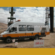 API produced Car Mounted Engine Pipe Hydraulic Pressure Test Equipment for BOP Operation
