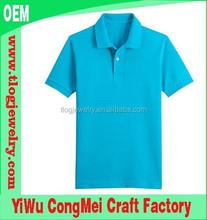 2015 Wholesale o-neck Men's short sleeve solid color 100% cotton plain polo shirts, Casual unisex polo shirt,bulk blank Tees