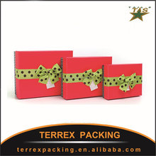 Business gift boxes rectangle large contracted gift packing box birthday gift box gold gift box