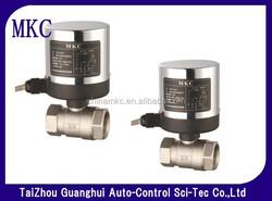 GH100-motorised ball valve