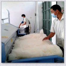 Good quality double roller fluffing cotton machine with lowest price