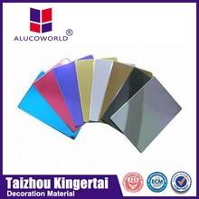 Alucoworld large assortment pe/pvdf coated acp cost of acp sheet
