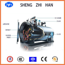 horizontal induction electric boiler for heating