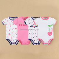 MOM AND BAB Factory Baby Clothes Wholesale 100% Cotton Romper Baby Bodysuit Gift Box Set