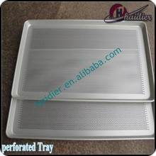 Gauge Aluminum Bun / Sheet Pan with Perforated Bottom 60x40cm