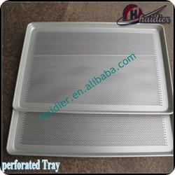 Gauge Aluminum Bun / Sheet Pan with Perforated Bottom 60x40cm
