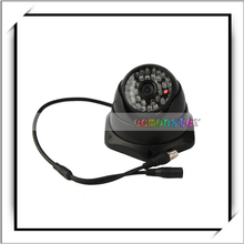1 /3 CCD 480TVL Plastic Conch-shaped Six-pointed Star Base 48IR LED Indoor Security CCTV Camera Black