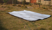 OEM 2015 two people Double-side Aluminum foil mat moisure-proof mat camping mat UD16012