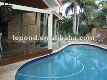 12mm Tempered glass swimming pool /safety glass fencing