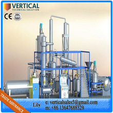Used oil recycling plant waste oil purification equipment oil distillation plant