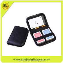 travel playing game card set with notepad