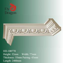 HD-1000770 polyurethane foam ceiling cornice