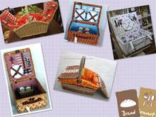 wicker picnic basket,not bamboo basket
