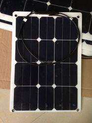 30W adhesive thin film flexible solar panel, lightweight, ultra thin , high efficiency