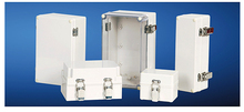 IP66 ABS/PC Plastic Waterproof Dustproof Enclosures with Wall Mounting(Hinge Type)