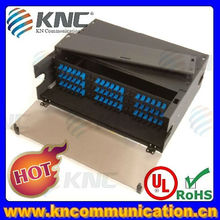 2U 48 port optical fiber patch panel