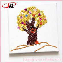 Wood home decoration tree design ,do your own frame