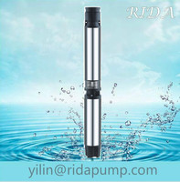 """60 kw well 6"""" 150QJD 6SR irrigation centrifugal vortex oil filling dc solar systerm submersible water pump in india"""