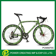 2015 alibaba china new design Camouflage 26 inch specialty 14speed road bike