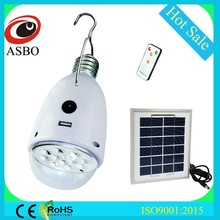 New Product 2000mah Lithium Battery Or Solar Powered Rechargeable Solar Lamp, Garden LED Solar Light With 2W6V Solar Panel