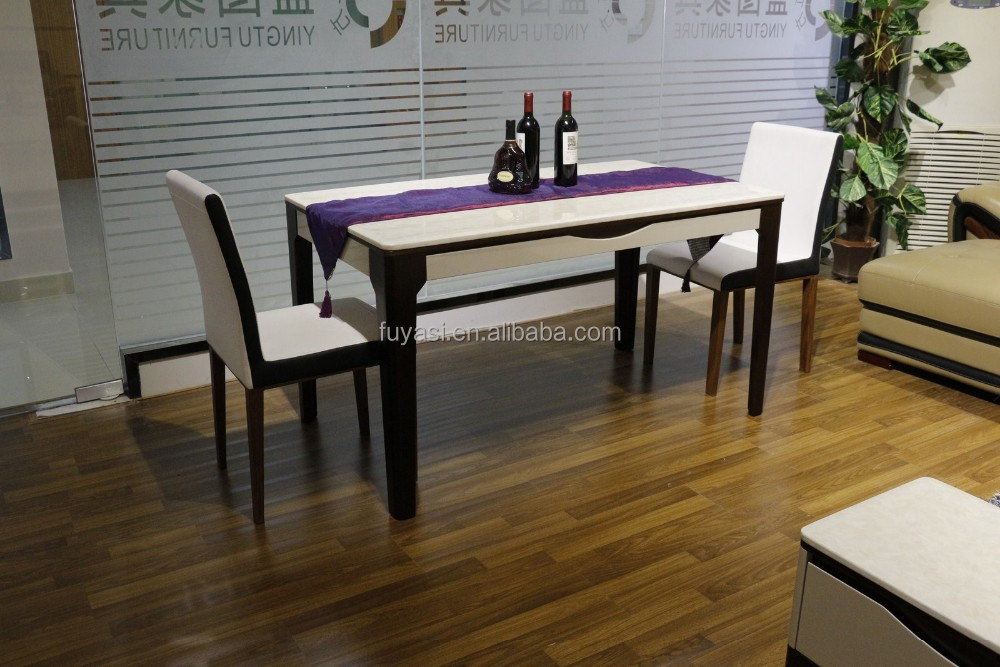 furniture artificial marble top table cheap dining tables for sale