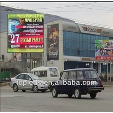 outdoor double sided led sign