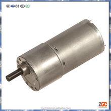 PM DC Spur Gear Motor 35mm,gear box OD37,24V