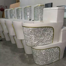decorated toilet suite Toilet, Sanitary ware toilet ,siphonic ceramic decorated toilet