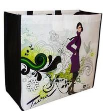 fashion eco-friendly bopp laminated pp non woven bag