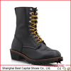 Genuine leather Goodyear Welted Safety Boots/ Personal Protective Equipment/ Farm&Ranch boots for farm workers