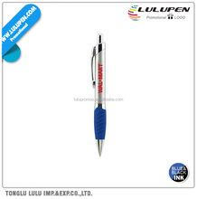 Silver Small Grip Promotional Pen (Lu-Q08874)