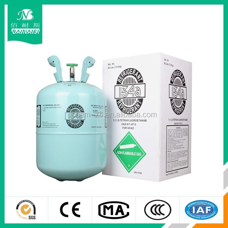 A/C Refrigerant R134a, HFC-R134a refrigerant gas,R404/R407/R410/R600A Refrigerant for sale