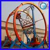 Small Size Thrilling Games Amusement Park Rides Mini Ferris Wheel