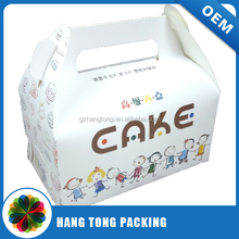 nice decorative printing birthday cake packaging paper box wholesale