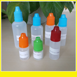 Hot new product plastic container 50ml smoke oil plastic bottle