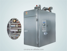 smoke house in meat product making machine/smoked furnace/high efficiency automatic smoked furnace/