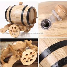 Custom made 1.5l, 3l, 5l, 10l, 15l stained color wooden beer barrel,wood wine barrels