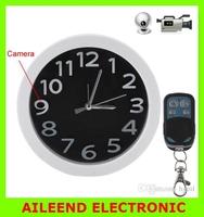 5.0 Mega Pixels Full HD 1080P Remote Control Spy Camera Video Wall Clock