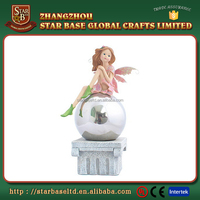 Lovely elf girl craft beauty home decoration resin fairy tale figurines