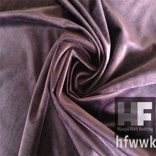 China direct textiles factory wholesale shinny velvet for sofa cover,100 polyester velvet upholstery