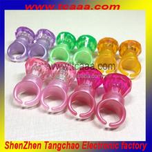 china wholesale wedding favor LED rubber ring , glow led rings