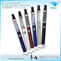 nowy elektroniczny papieros hurtowy eGo CE4 Clearomizer, nowy proudcts MiNi CE4 atomizer najlepszy elektroniczny papieros