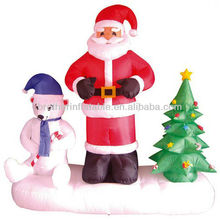 Merry christmas inflatables cartoon for sale