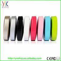 Colorful universal portable power bank 5600mah aaa power bank