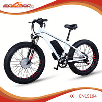 """Electric bicycle disc brake 26"""" S19 Super Range Double Power Electric Bicycle"""