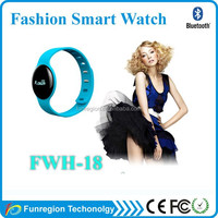 New arrival bluetooth smart bracelet l12s smart watch for android ios smart phone