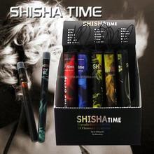 All fruit flavor hot new 500 puffs portable e hookah pen electronic shisha colored smoke